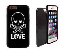 Less Talk More Do Design 2 in 1 Hybrid Armor Full-Body Dual Layer Shock-Protector Slim Case for iPhone 6