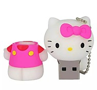 YOUWO Pink Red Blue HelloKitty Cartoon USB 16GB SP0017801