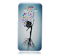 Thinking  Pattern TPU Phone Case For Samsung Galaxy J5