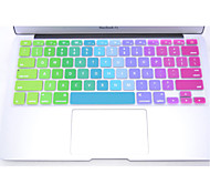 "Coosbo® Colorful Silicone Keyboard Protection Cover Skin for 11"",12"",13"",15"",17"" Macbook Air Pro Retina"