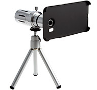 Metal Smartphone 12 x zoom Telephoto Lens Set with Tripod for Samsung S6 edge