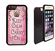 Carry ON Design 2 in 1 Hybrid Armor Full-Body Dual Layer Shock-Protector Slim Case for iPhone 6