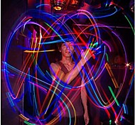 Colorful LED Laser Finger Light (4 PCS per Set)