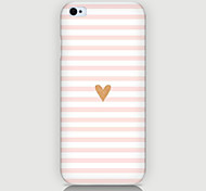 Stripe Love Pattern Case Back Cover for Phone4/4S Case