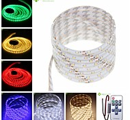 5M 25W 300x3528SMD Warm White / Green / Blue / Pink / Yellow / Red / White Waterproof LED Strip Lamp (DC12V)