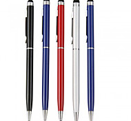 kinston® 5 x universele metalen stylus touch screen pen clip met bal pen voor iPhone / iPad / samsung en andere