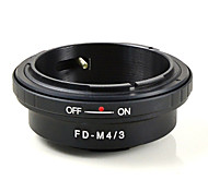 mengs® FD-m4 / 3 байонет кольцо адаптера для объектива Canon FD на Olympus E-P1 и Panasonic g1 gh1- m4 / 3 камеры тело