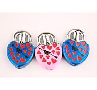 Creative Love Lock An Arrow Through A Heart Metal Lighters Blue Pink