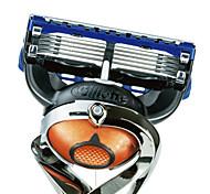gillette ProGlide fusão de barbear manual de recargas de lâminas para homens, 4 contagem