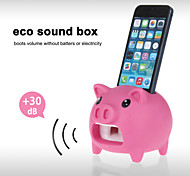 Cute Hands-Free Pig Sound Amplifier Stand Speaker Holder for iPhone 4/4S/5/5S/5C