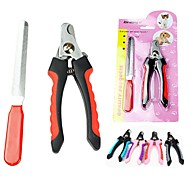 Practical Small Size Nail Scissor with Clipper for Pet Dogs(Random Colour)