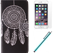 Dream Catcher Pattern PU Leather Full Body Case with screen protector and stylus for iPhone 6