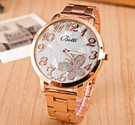 orologio in acciaio farfalla orologi moda femminile