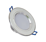 5W LED Downlight 10 SMD 5730 400lm blanco cálido / blanco frío ac 85-265v PC yangming 1