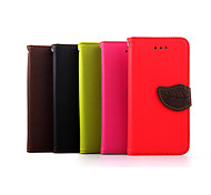 High Quality Wallet Card Holder PU Leather Flip Case Cover for iPhone 6(Assorted Colors)