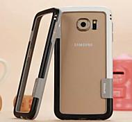 cores da moda correspondentes silicone moldura da porta para Samsung Galaxy S6 (cores sortidas)