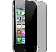 protetor resistente de alta zero transparente filme anti impressão digital definido com pano de microfibra para iphone 6 mais