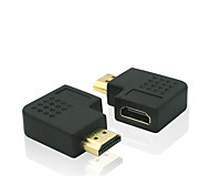 1080P HDMI V1.3 Male to HDMI Female Converter 270 Degree Adapter Extender Connector Adapter
