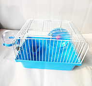 Small Rural Cage For A Hamster