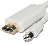 6ft 1.8m Mini Displayport auf-Adapter-Kabel HDMI-