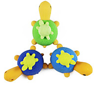 Cute Tortoise Eraser Gift DIY Turtle Detachable Student Pencil Rubber for Kid (Random Color)