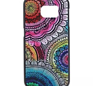 YMX-Colorful flower beds Pattern Design Pattern Protective Hard Case for Samsung GALAXY S6 G9200