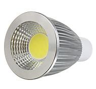 Focos GU10 7 W 1 COB 750 LM Blanco Cálido AC 100-240 V 1 pieza