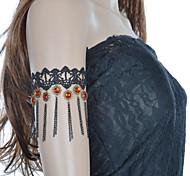 Vintage Sunflower Tassel Chain Bracelet