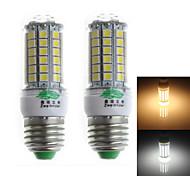Zweihnder QR-E27-69 E27 7W 600lm 3000/6000K 69 x 5050 SMD Cool/Warm White Corn Light  (AC 220-240V,2Pcs)