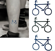2016 New  Painting Waterproof Temporary Bicycle Tattoo Paste,3PCS