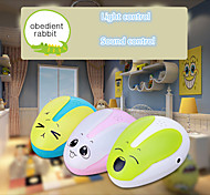 petit contrôle de la lumière la lumière de lapin de nuit adorable pour la décoration de la chambre et de l'application de lumière