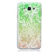 Magic Spider®Green Graduation Protective Soft Back Case Cover with Screen Protector for Samsung Galaxy E7