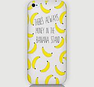 caso del patrón de plátano de la contraportada para iPhone4 / 4s
