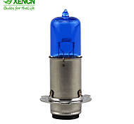 XENCN M5 P15d-25-3 12V 35/35W Motorcycle Blue Diamond Headlight Clear Lighting Halogen Lamp Auto Light Bulbs