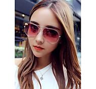 moda óculos de sol aviador polarizado hayoha das mulheres