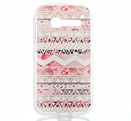 Pink Stripes Pattern Thin Transparent TPU Phone Case for Alcatel One Touch Pop C5