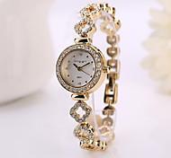 mulheres moda vestir relógios strass relógio feminino relogio rose relógios de pulso de quartzo marca de luxo ouro