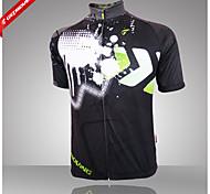 Jersey/Personalizado Esportes Relaxantes/Ciclismo/Trilha - Homens -Respirável/Alta Respirabilidade (>15,001g)/Resistente Raios