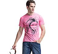 casual wear forider® t-shirt de manga curta montada rapidamente secos homens t-shirt equitação sportswear rosa