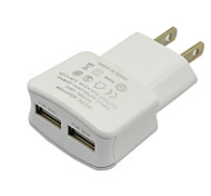 New US 2A Dual Port Charger Black/White For Wall Charger For Iphone 5 5s 6 For Samsung S4 S5 S6 Note 3