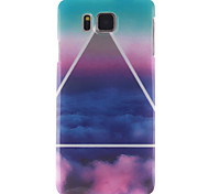 For Samsung Galaxy Case IMD Case Back Cover Case Scenery TPU Samsung Alpha