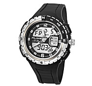 Multi-functional Outdoor Sports Men's Watch Dual Displays Electronic Watch Waterproof Wristwatches(Assorted Colors)