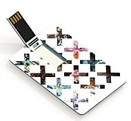 64gb x tarjeta de diseño de una unidad flash USB
