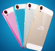 custodia rigida struttura del metallo specchio acrilico backplane in metallo per HTC Desire 820 (colori assortiti)