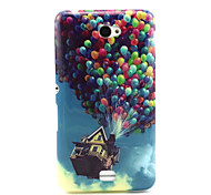 Balloon House Pattern TPU Soft Case for Sony E4