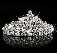Crystal Crown Tiara Hair Flower Bride Hair Wedding Headdress Wedding Accessories One Piece