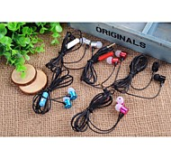 Stylish Metal (Earbuds, In-Ear) 3.5mm Input Apply to Samsung iPhone 4/5S/6/6Plus HTC/Red Rice/Millet (Assorted Color)