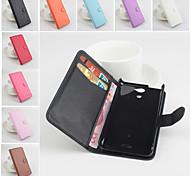 Funda protectora de cuero de la PU con el soporte soporte para Sony Xperia V .lt25i (colores surtidos)