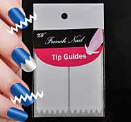 60pcs fabricación de herramientas de arte patrón de uñas profesional (2x30pcs) 17 #