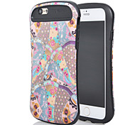 a nova combinação para iphone6plus óleo leve design da vara caminho cintura fina de casca de telefone móvel